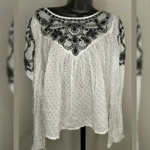 Free People Womens Blouse